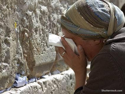 prayer crying israel