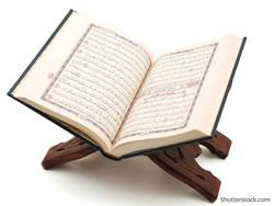 muslim-quran-on-white