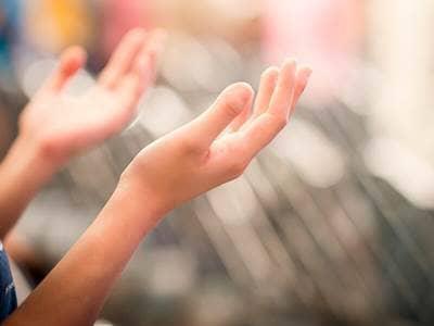 hands praise
