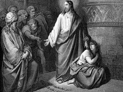 Forgiven adulteress bible