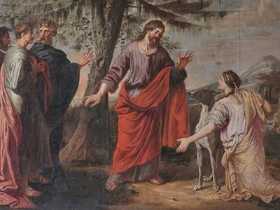 Canaannite begged Jesus to heal her daughter