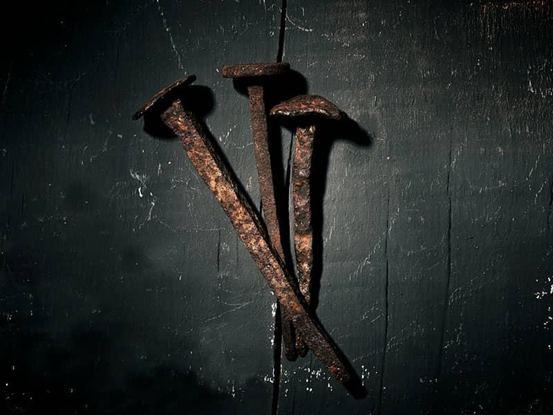 crucifixion nails