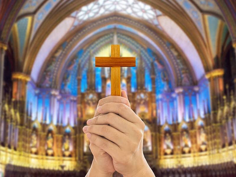 cross window church