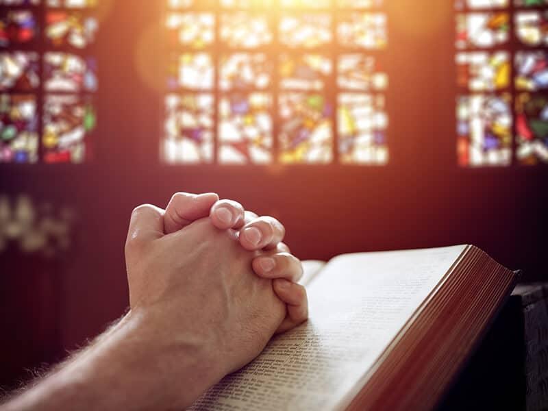 Christian Praying