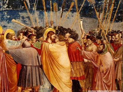 Judas Iscariot Kiss of Betrayal
