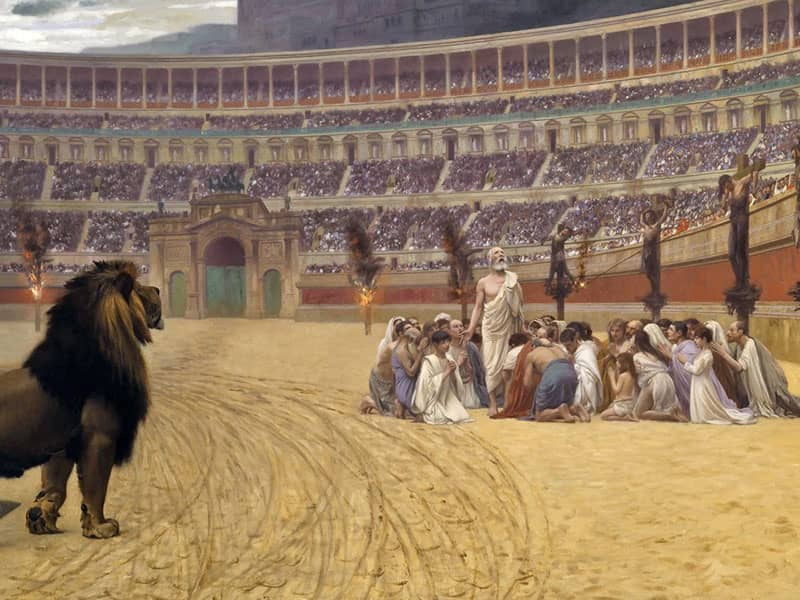 Persecution of Christians Ancient Rome