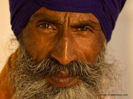 Indian Sikh Man