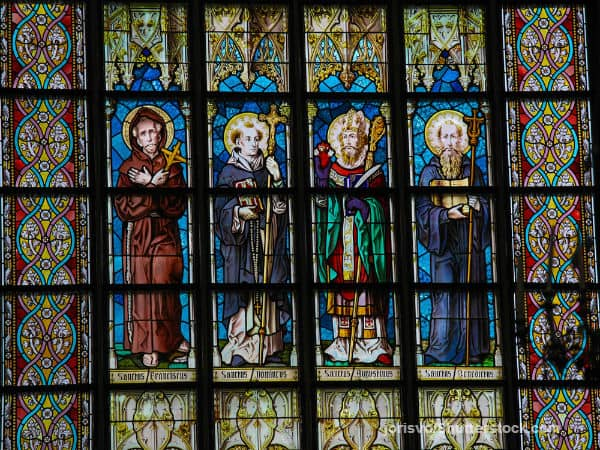 Saints Stained Glass