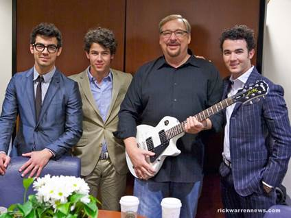 Rick Warren Jonas Brothers