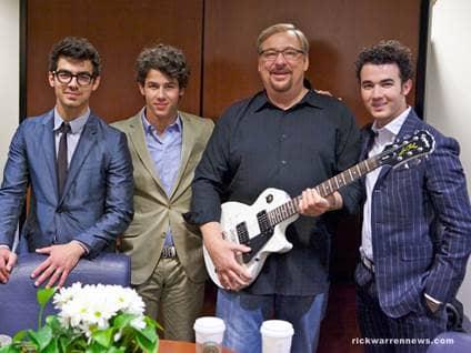 Rick Warren Jonas Brothers