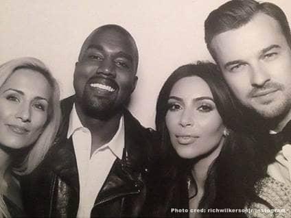 Kim Kardashian Kanye West Rich Wilkerson Jr.