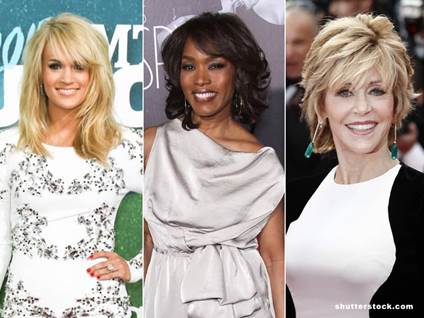 christian women angela bassett jane fonda carrie underwood