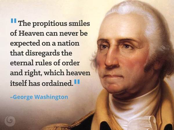 George Washington Quotes Bible: Famous Christian Quotes From Presidents