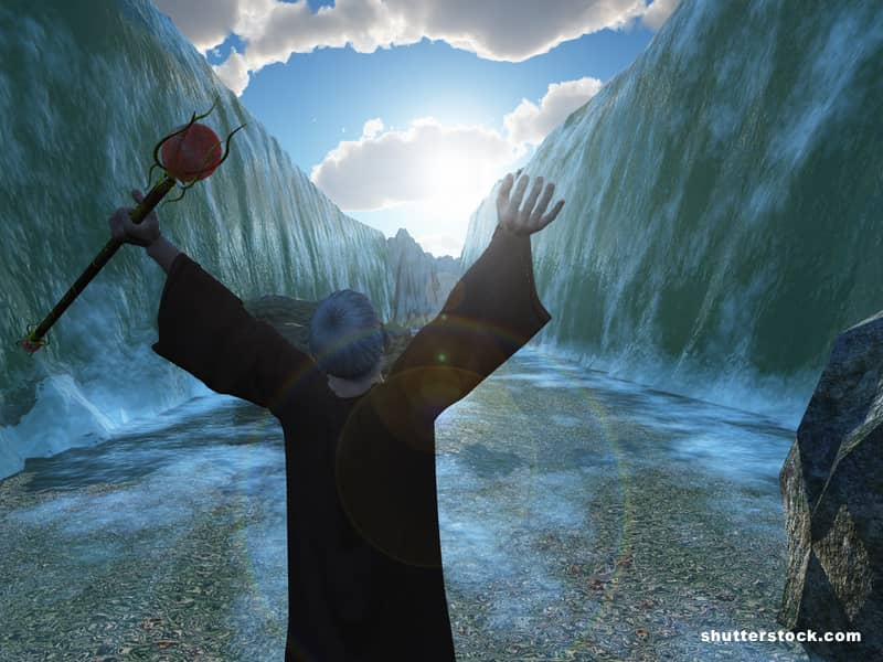 Moses Bible Red Seas