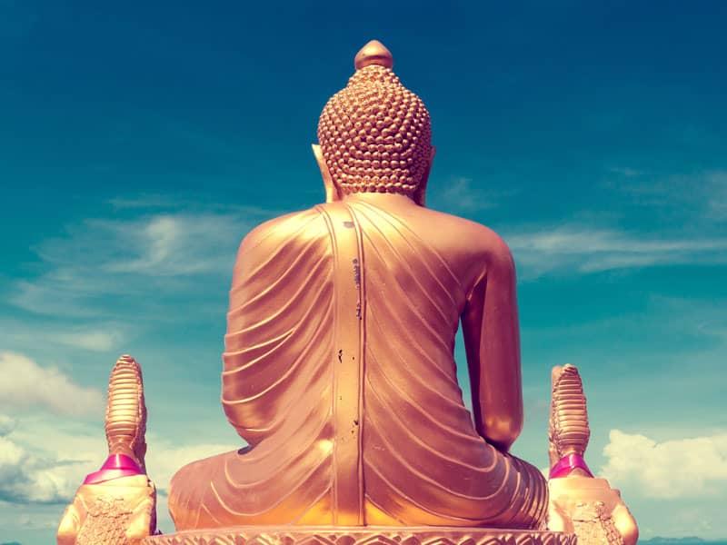 Buddha in Sunlight