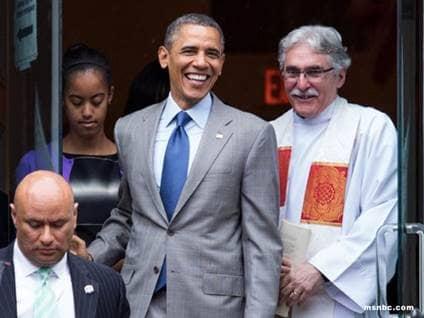 President Barak Omama Reverend Dr. Luis Leon
