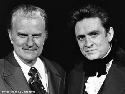 Billy Graham Johnny Cash