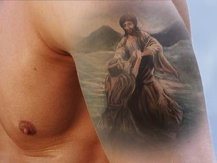 5 Jesus Tattoos For Sacrifices And Strength Popular Christian