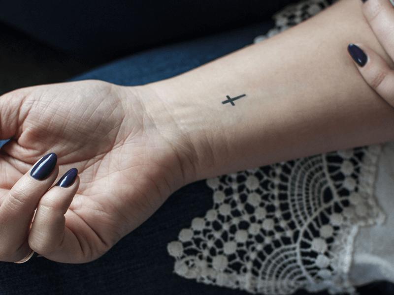 Small Cross Tattoo