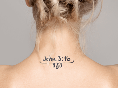 6 Jesus Tattoo Designs For Women Popular Christian Tattoos John