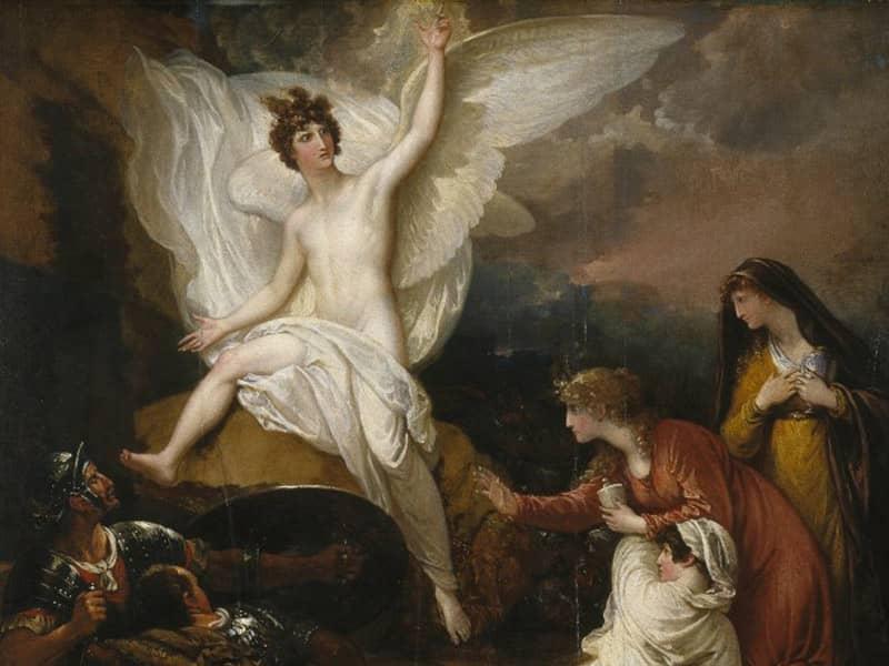 Angel on Rock