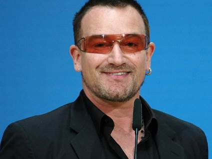 Bono Blue Background