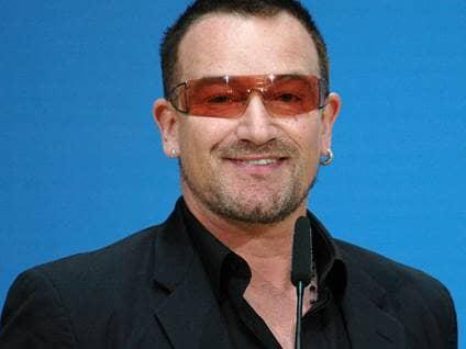 Bono Blue Background