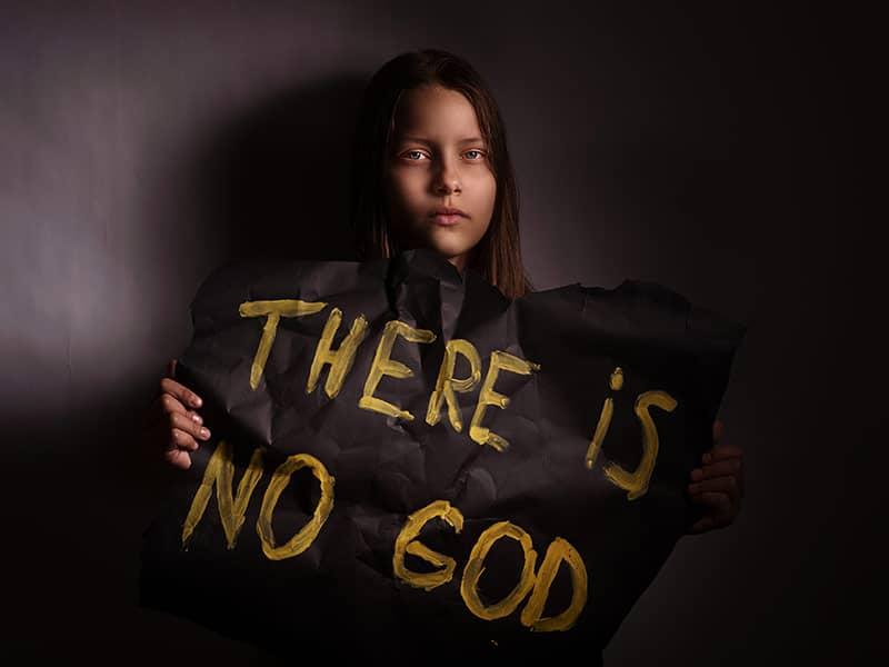 Atheist Teen Girl