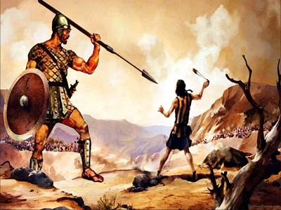 david and goliath, pulling down the giants in life, overcoming the goliaths in life, bravery, the life of King David