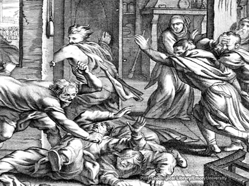 shocking Bible scenes, step stone Bible, step into the Bible, seven sons of sceva