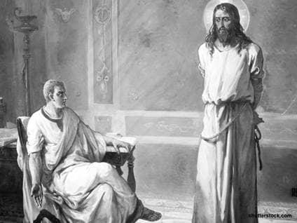 jesus pilate