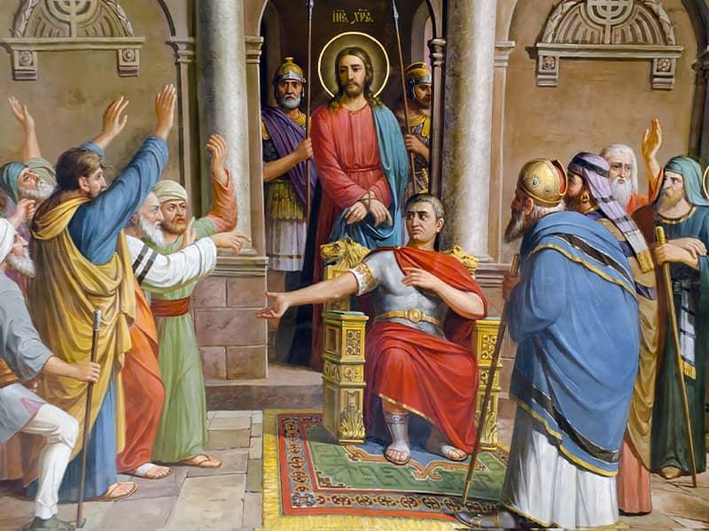 jesus crucifixion pilate