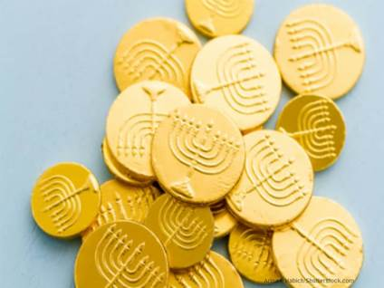 Arina P Habich Chocolate coins