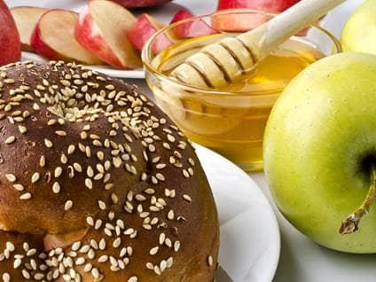 rosh hashanah food