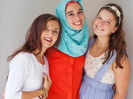 Women of various faiths