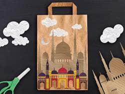 Ramadan paper bag