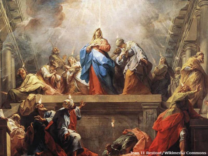 Pentecost visual from Acts