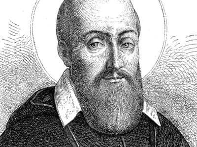 Saint Francis de Sales credit shutterstock