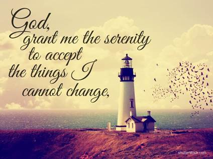 serenity prayer things I cannot change lighthouse