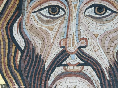 face, jesus, art