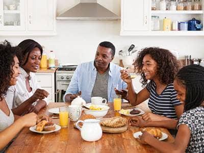 family-dinner-togetherness-parenting_credit-shutterstock