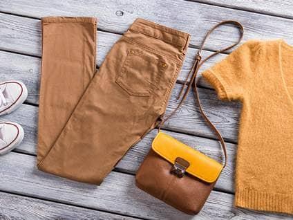 Tan Clothes