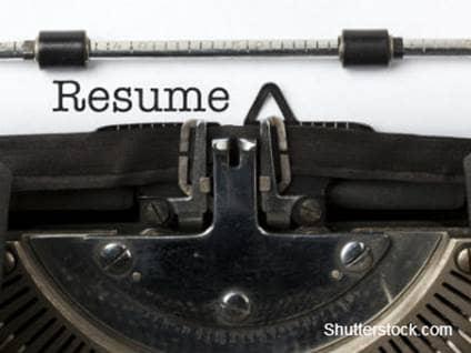 Help making a resume