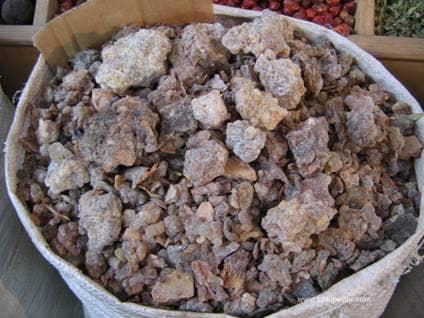 Bag of frankincense