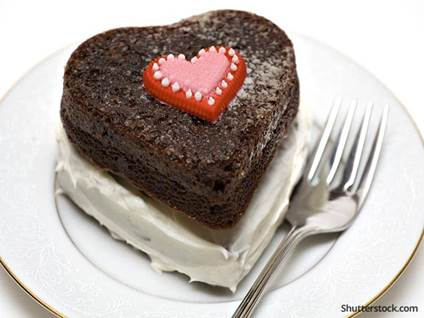 food-dessert-heart-chocolate-cake