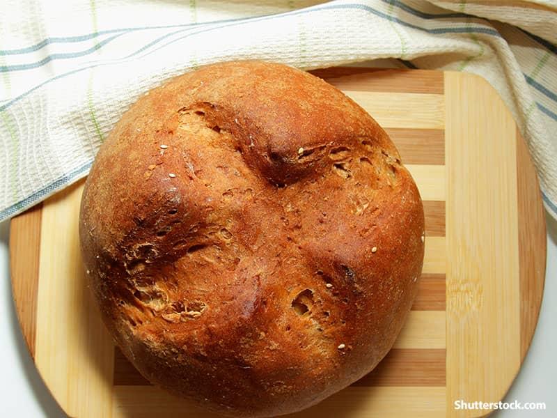 food loaf of bread