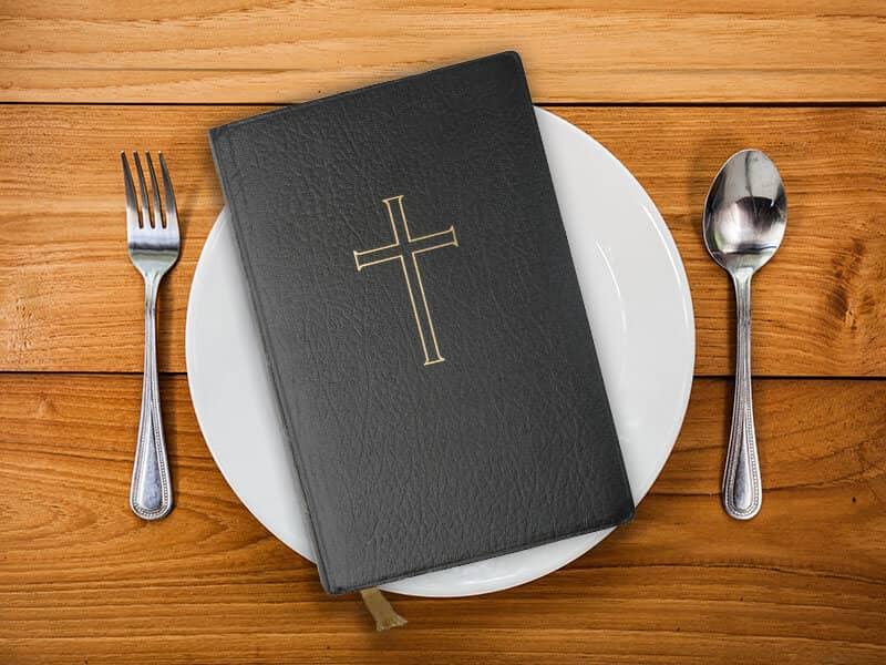 Bible Food Plate
