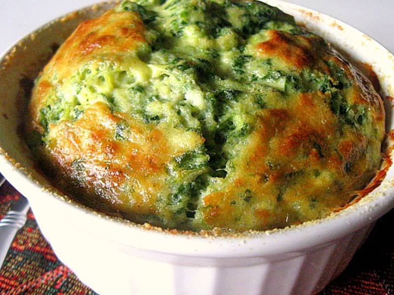 spinach souffle