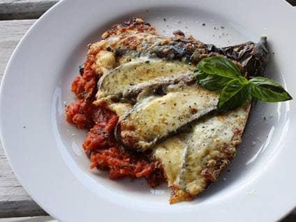 eggplant paremesan