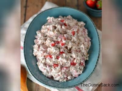 Strawberry Pecan Pretzel Salad
